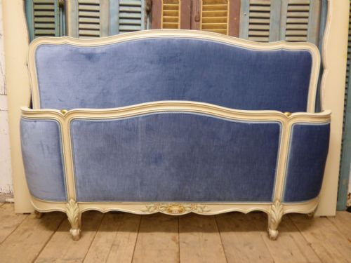Vintage French King Size Bed - hc44